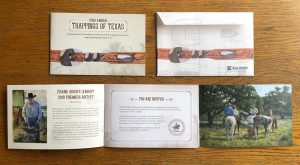 2019 Trappings of Texas Invitation Package