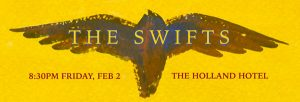 Poster for The Swifts Performance
